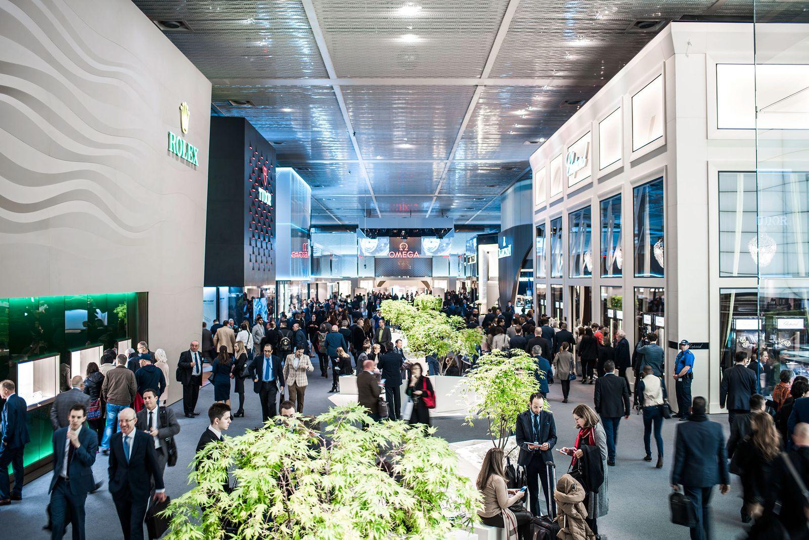 EINMALIGE VERWENDUNG Baselworld 2016