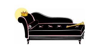 Topmanager auf der Couch