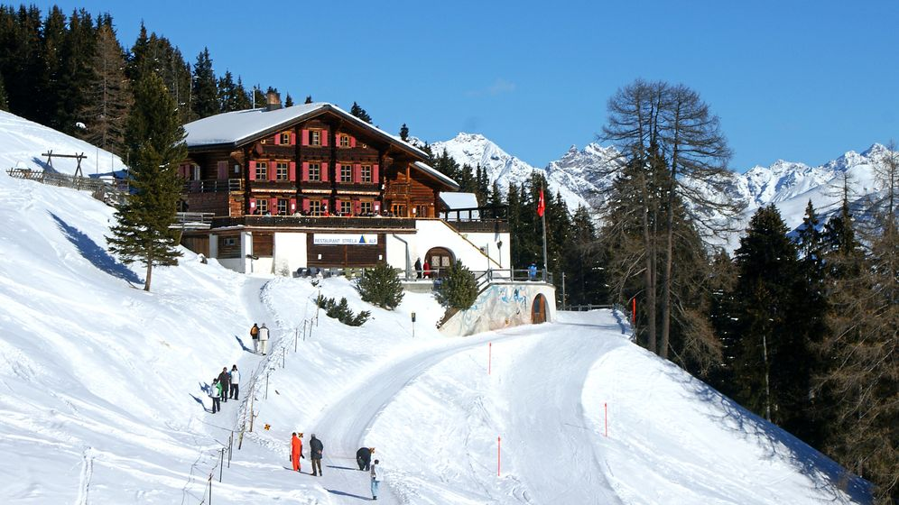 Davos: Unterwegs auf dem Slow Mountain