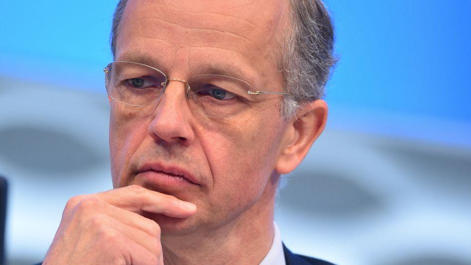 BASF-Chef Kurt Bock prognostiziert steigende Gewinne