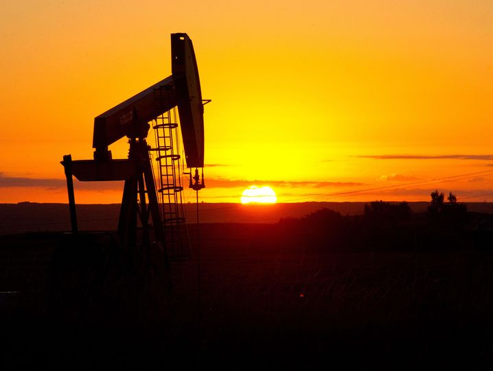Ölpumpe in North Dakota: Die nordamerikanische Fracking-Industrie stellt den Markt mit 5 Prozent Absatzanteil auf den Kopf