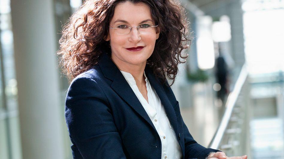 Tina Müller führt den Parfümeriekonzern Douglas seit ein paar Monaten
