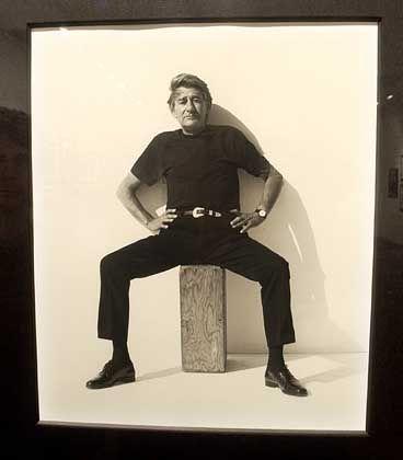 Helmut Newton: Fotografiert von seinem Kollegen Herb Ritts