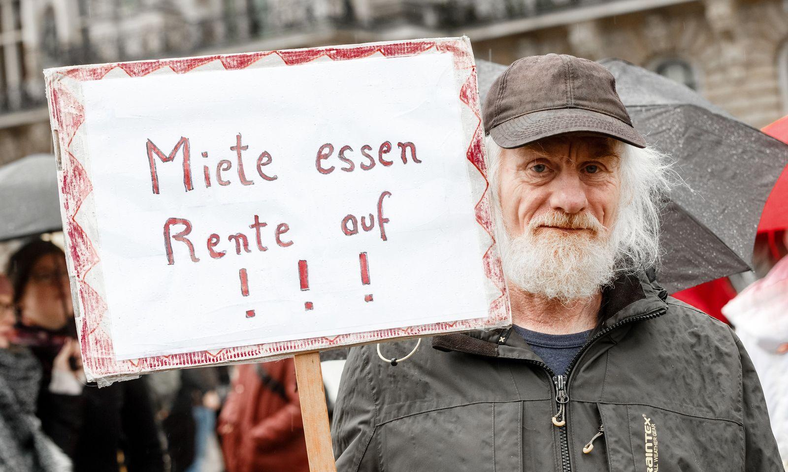 Demo für bezahlbaren Wohnraum