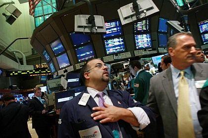 Kopf hoch: Auch in New York sind die Anleger erleichtert - vorerst