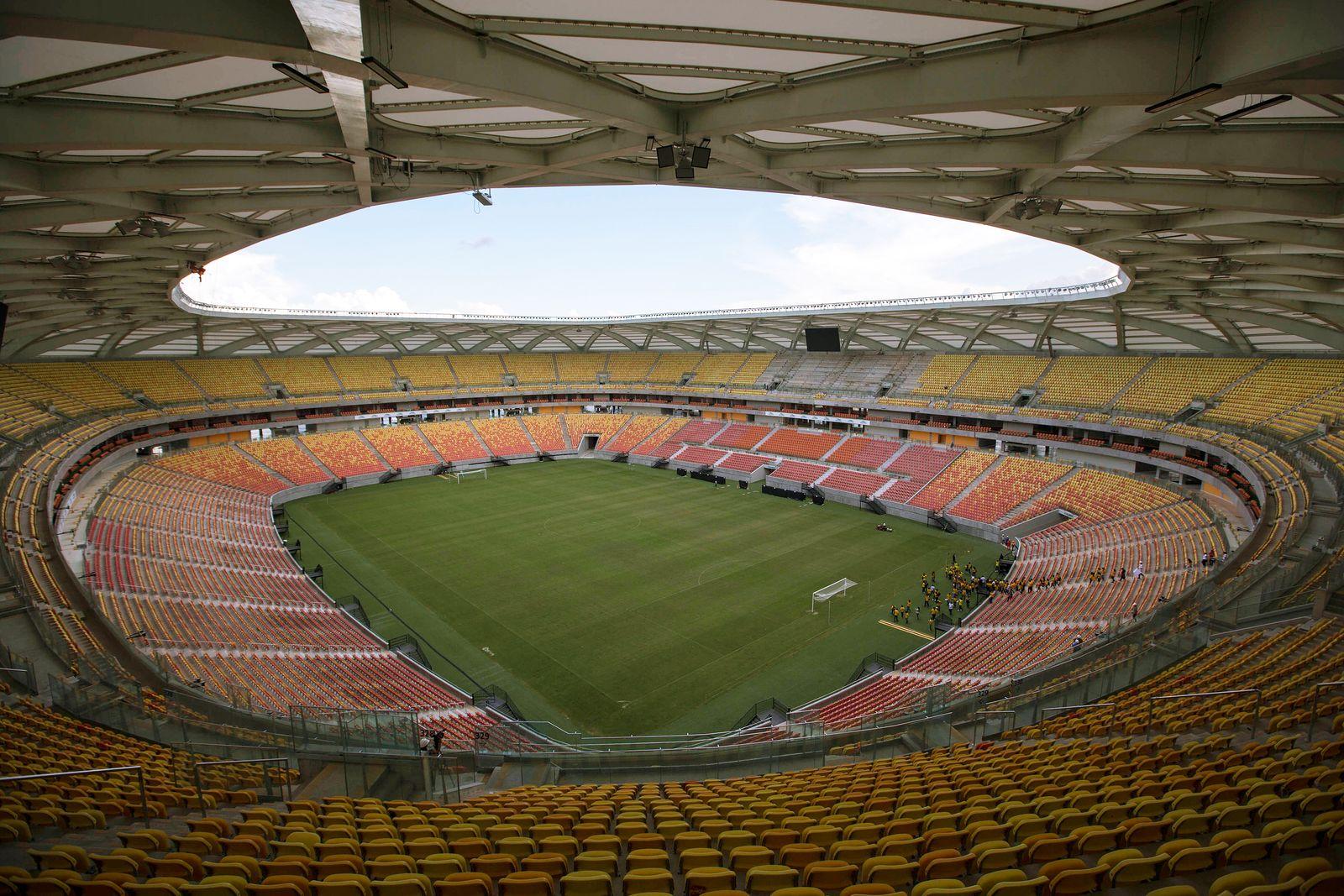 WM-Stadien 2014/ Arena da Amazonia