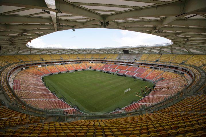 Arena da Amazônia in Manaus