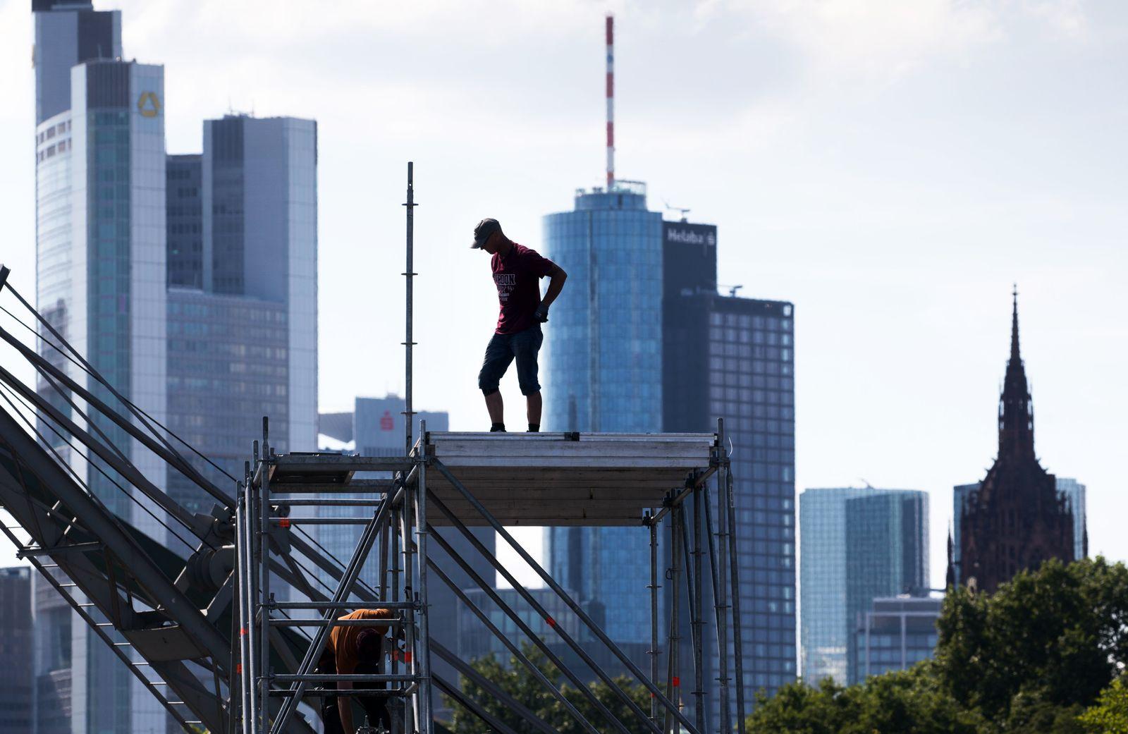 Deutschland / Konjunktur / Wirtschaft / Banken / Frankfurt