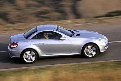 Sportlich: Mercedes Roadster SLK
