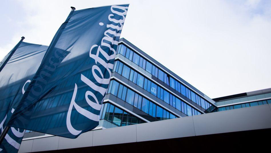 Telefónica-Deutschland-Zentrale in Düsseldorf