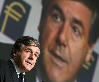 Der Deutschen Bank verbunden: Vorstandschef Josef Ackermann