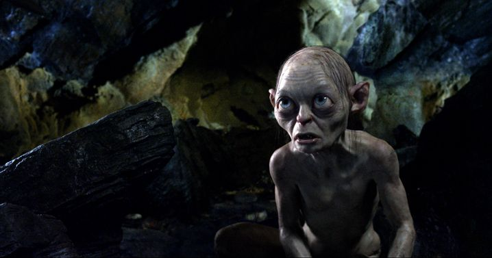 """Die Kreatur Gollum aus dem Film """"The Hobbit: An Unexpected Journey"""" hauste an einem dunklen Teich, unter einem hohen Berg. In dieser der Dunkelheit jagte er. """"Dark pools"""" sollen das gleiche bieten"""