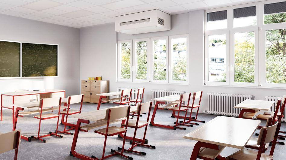 Leeres Klassenzimmer: Auch nach dem 10. Januar dürften nur wenige Schüler zurückkehren