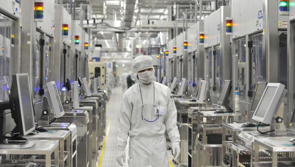 Bild aus besseren Tagen: Chipfabrik von Renesas im japanischen Hitachinaka (Archivbild von 2011)