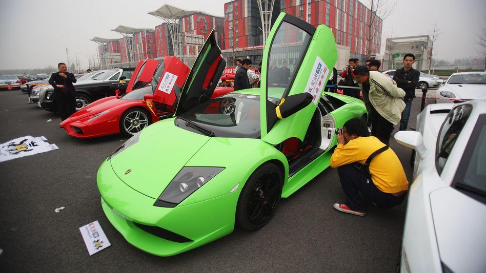 Objekt der Begierde: Quantum will die italienische Luxus-Sportwagenmarke Lamborghini übernehmen