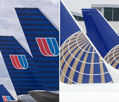 Gute Ergänzung: United fliegt viele Verbindungen nach Asien, Continental nach Europa und Lateinamerika