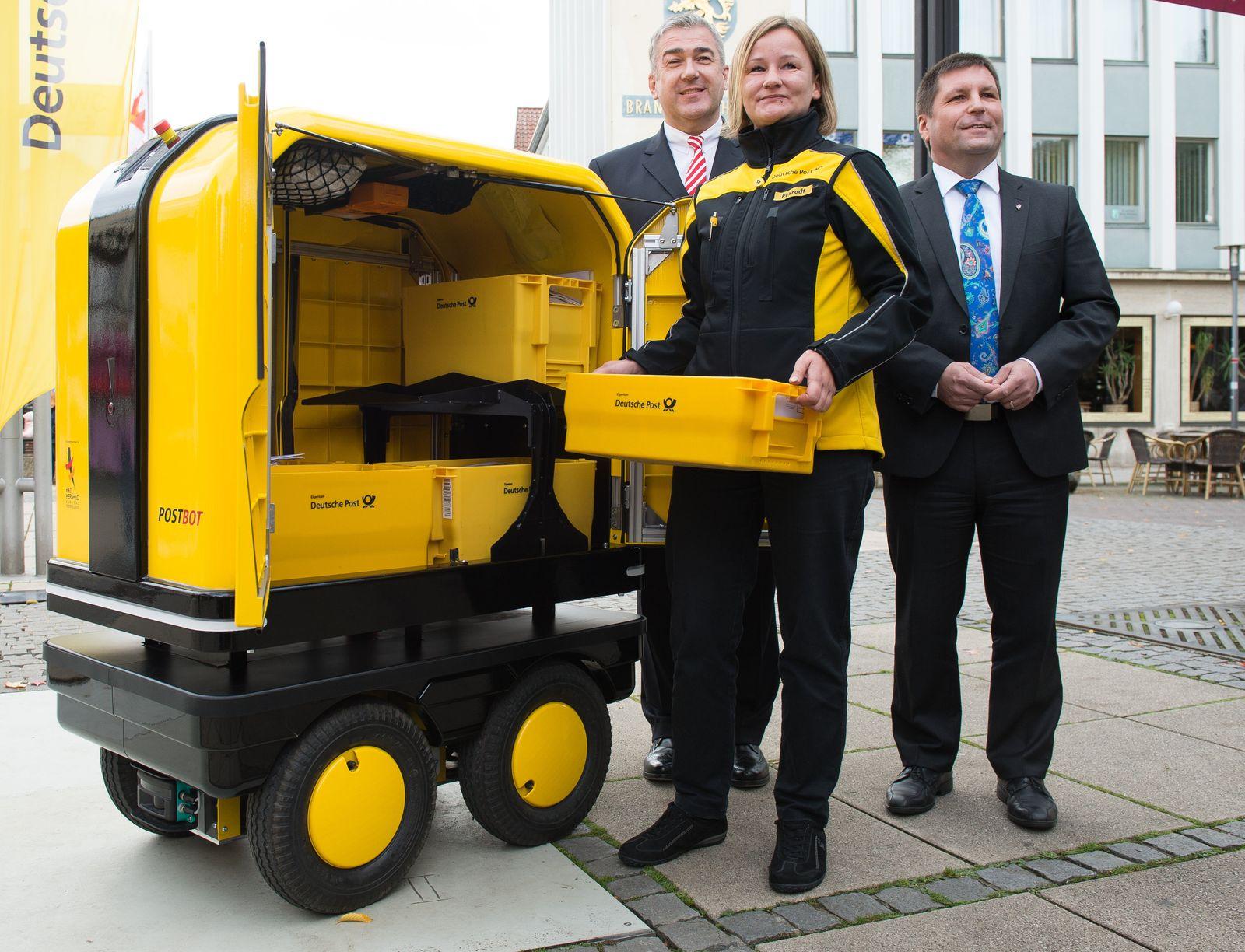 Deutsche Post / Begleit-Roboter