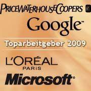 Toparbeitgeber in Europa: PwC und Google belegen die ersten Plätze