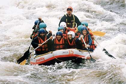 Rafting: Born to be wild