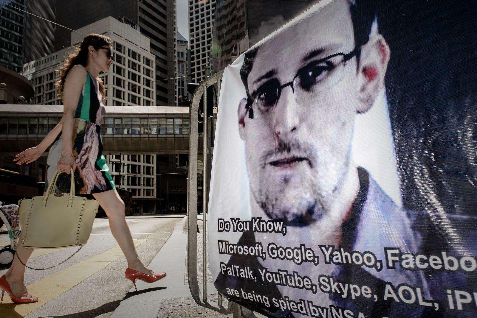 Edward Snowden/ Hong Kong