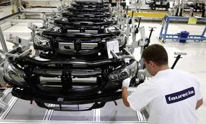 BMW-Montage in Leipzig: Faurecia mit im Geschäft