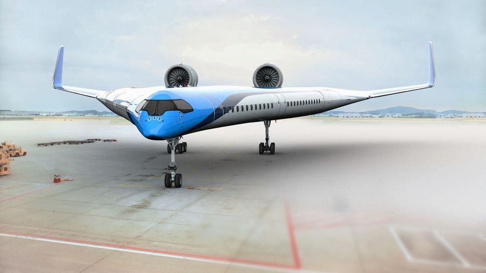 Flying V: Avantgardistischer Traum vom Fliegen