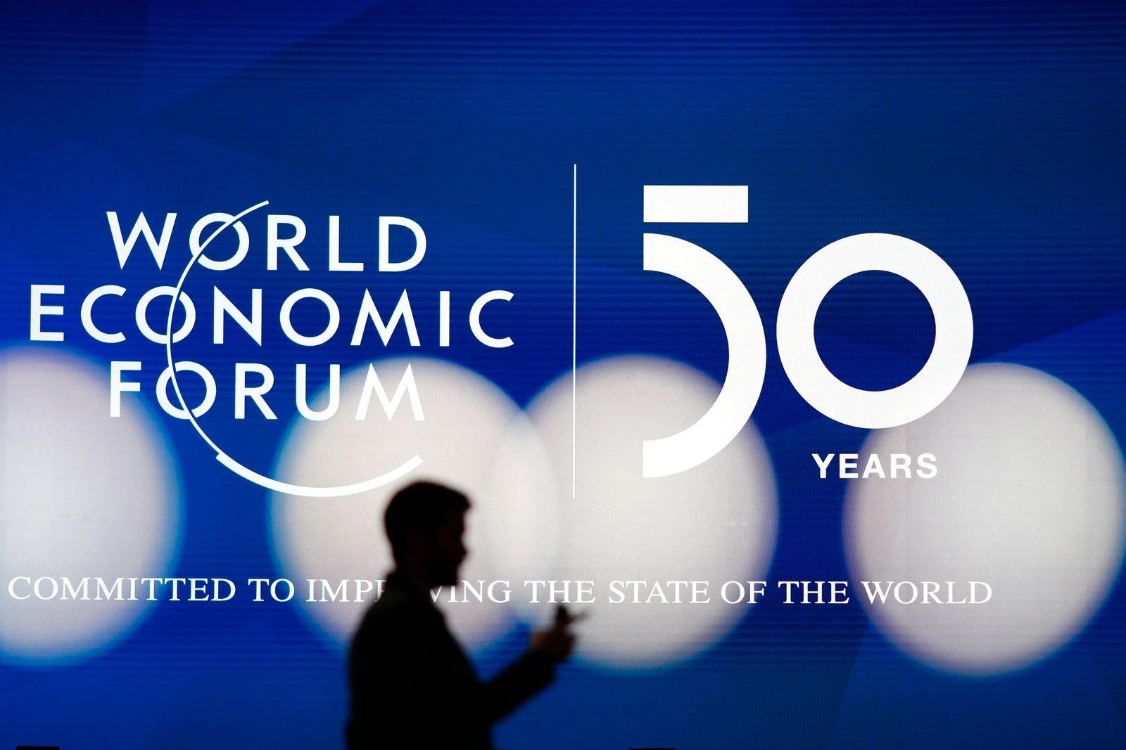 Weltwirtschaftsforum (WEF) / Logo