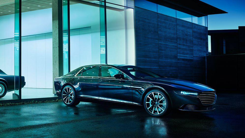 Aston Martin Lagonda Moderner Oldtimer Manager Magazin