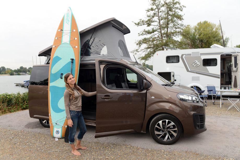 Kleine große Welt: Auch kleinere Vans und Lieferwagen werden von Spezialanbietern oftmals modulartig ausgebaut und zuweilen Minicamper genannt