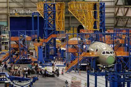Andere Investitionspolitik: Boeing-Produktion in Washington