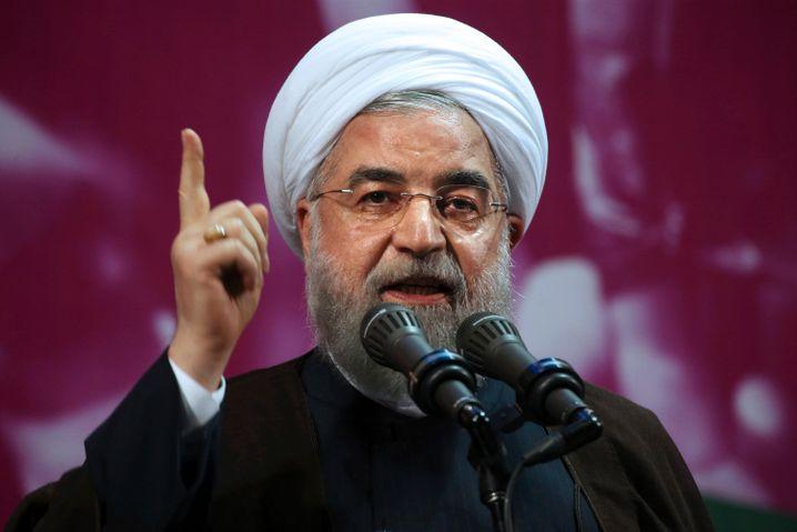 """Irans Präsident Hassan Rohani: """"Psychologischer Krieg"""" der USA gegen sein Land"""