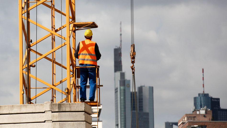 Deutsche Bauwirtschaft: Derzeit ähnlich stark wie zur Zeit der Wiedervereinigung