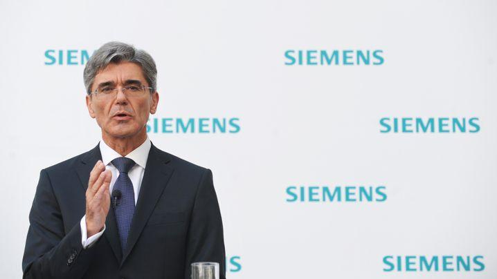 Überblick: Wie Joe Kaeser Siemens führt