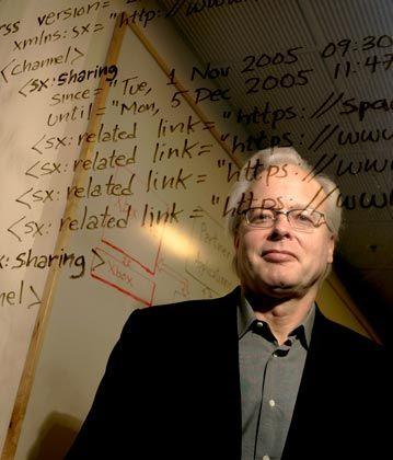 Das Gehirn: Ray Ozzie denkt vor, wie Microsoft die nahe Zukunft erobern will