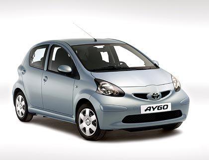 ... und seine Schwestermodelle Toyota Aygo ...