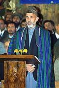 Testanruf nach Deutschland: Afghanistans Regierungschef Hamid Karsai