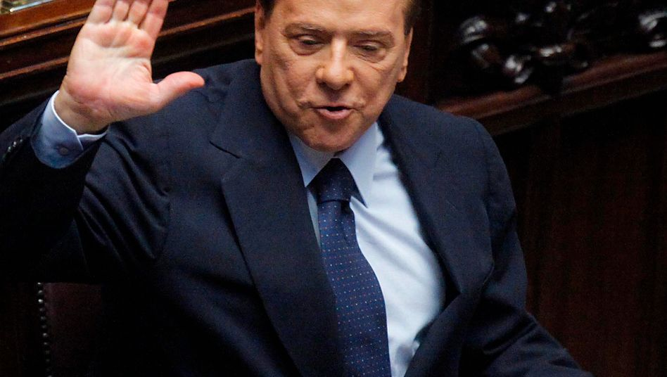 """Italiens Regierungschef Berlusconi: """"Geheimer Pakt"""" beinhaltet offenbar auch seinen vorzeitigen Abgang"""