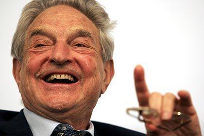 Magier des Geldes: Hedgefondsmanager George Soros wird in Davos über die Bedingungen für Wirtschaftshilfen an einzelne Staaten diskutieren
