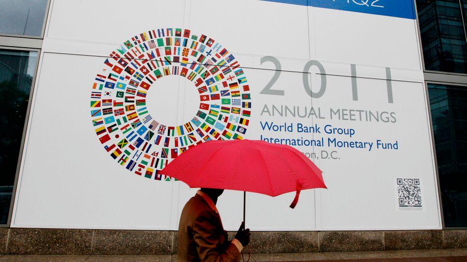 IWF-Tagung in Washington: Der Rettungsschirm für Europa soll mithilfe des IWF ausgeweitet werden