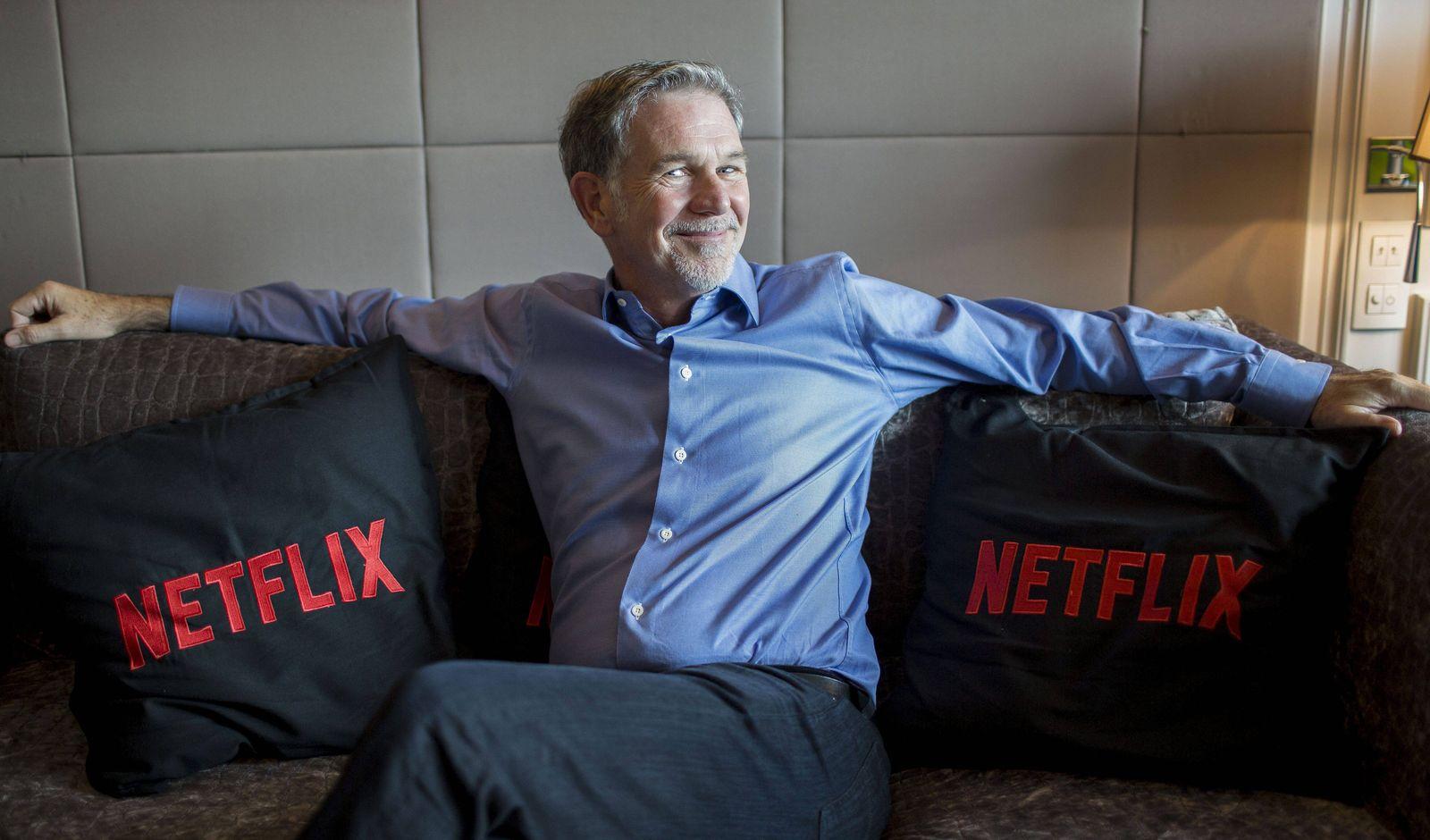 Co founder and director of Netflix Reed Hastings MADRID PUBLICATIONxINxGERxAUTxHUNxONLY SERGIOxGONZ