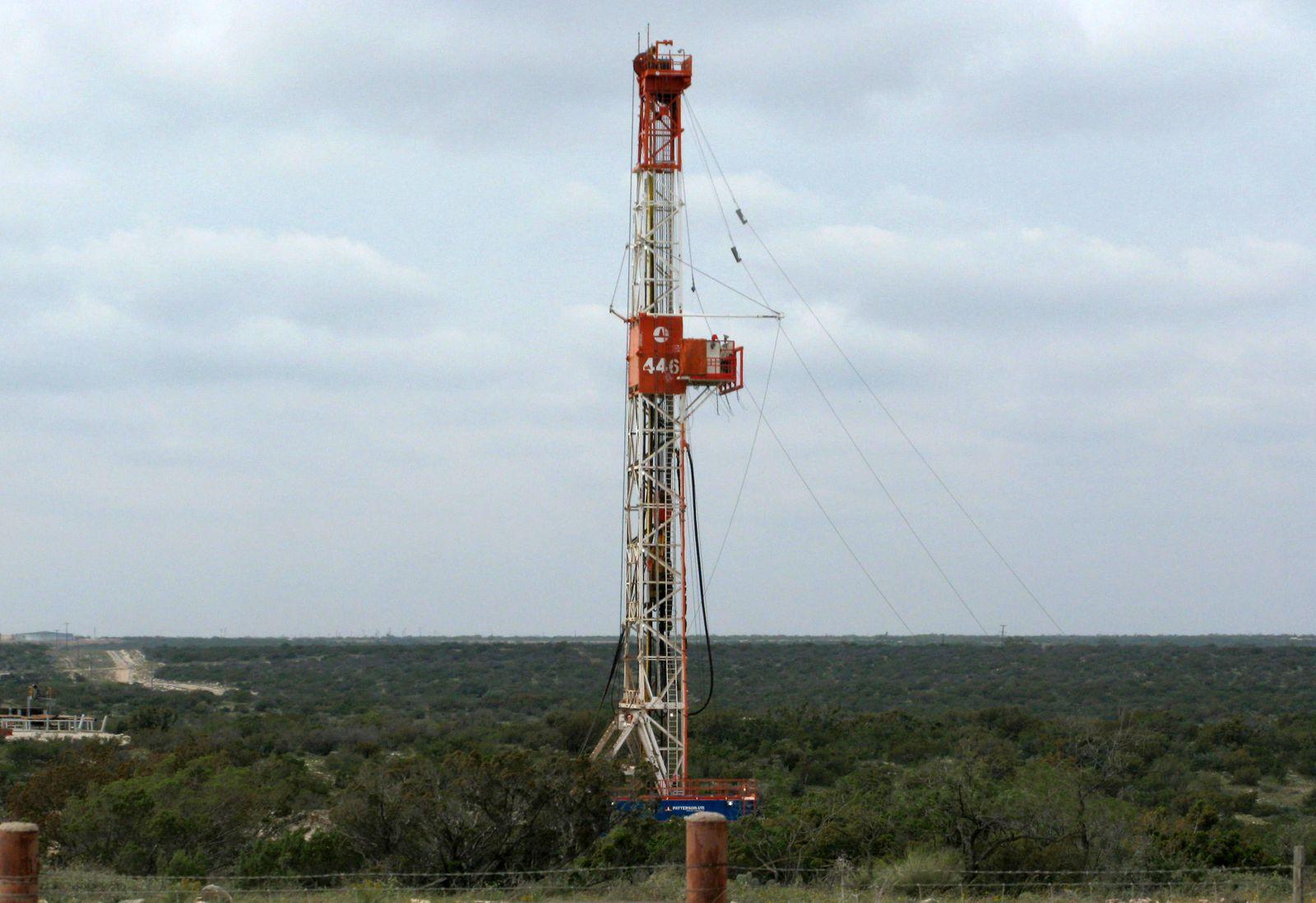 Fracking in Texas / Erschließung