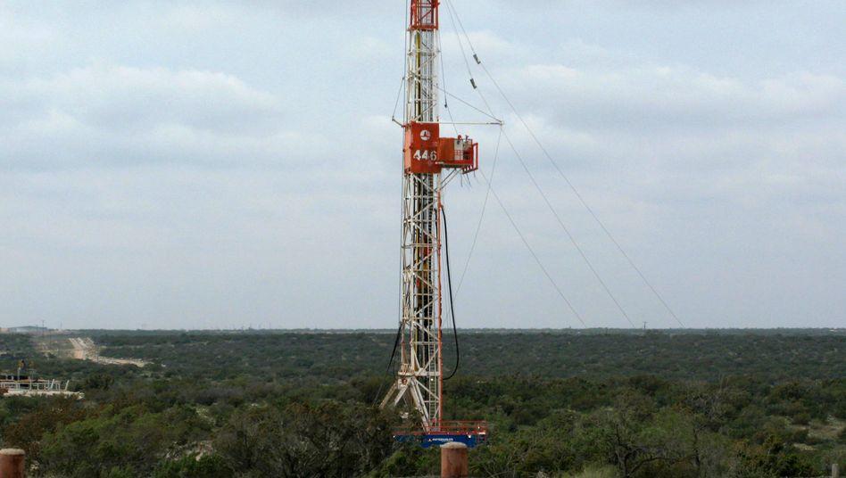 Fracking-Anlage in Texas: Das BIP im US-Bundesstaat wächst derzeit zwei Mal so schnell wie in den USA