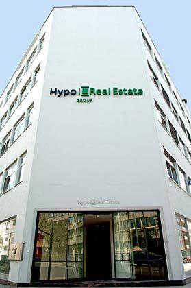 Schlusslicht: Die Zentrale der Hypo Real Estate in München