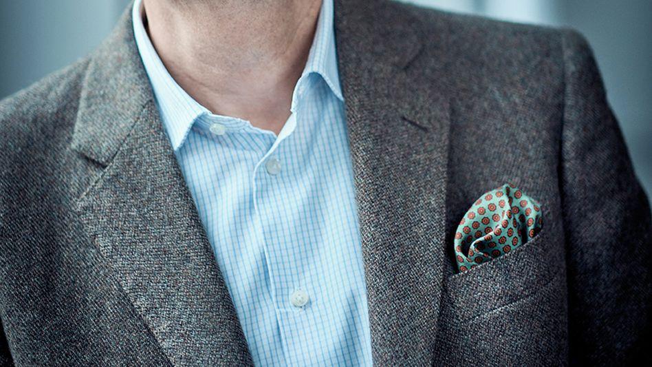 Zur-Rose-Gründer Walter Oberhänsli: Selten ohne Krawatte, nie ohne Einstecktuch zu sehen