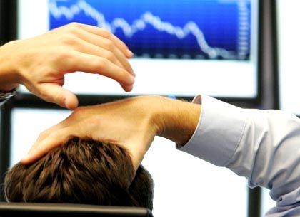 Kein Fortschritt: In Frankfurt am Main sind die Aktienkurse heute im Schnitt gesunken