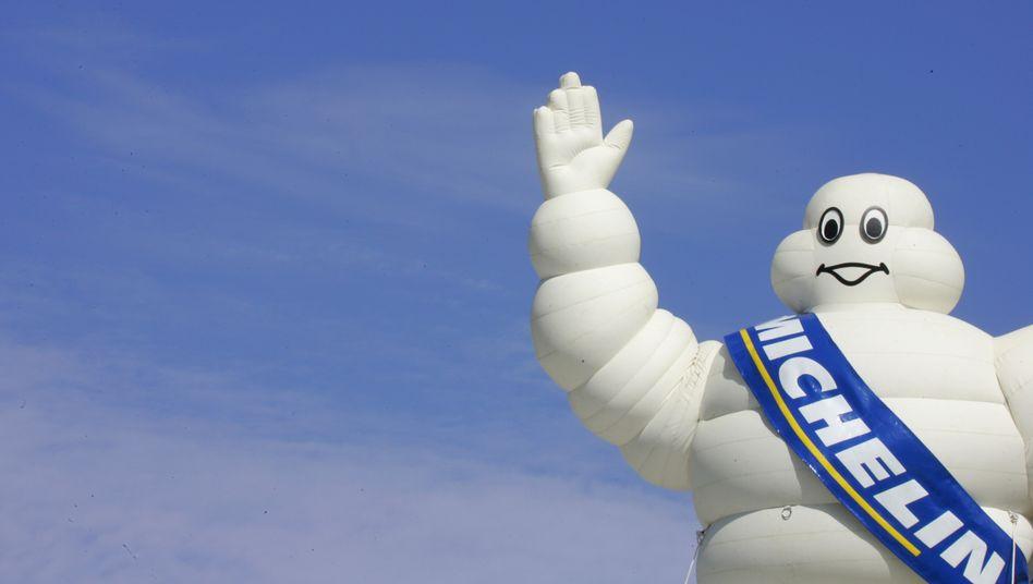 Mit Zuversicht ins neue Geschäftsjahr: Das gilt nicht nur für die das unverwechselbare Michelin-Männchen