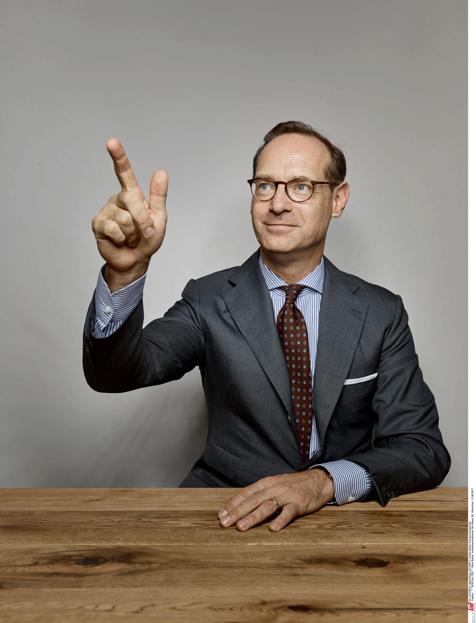 Oliver Baete, Vorstandsvorsitzender der Allianz SE