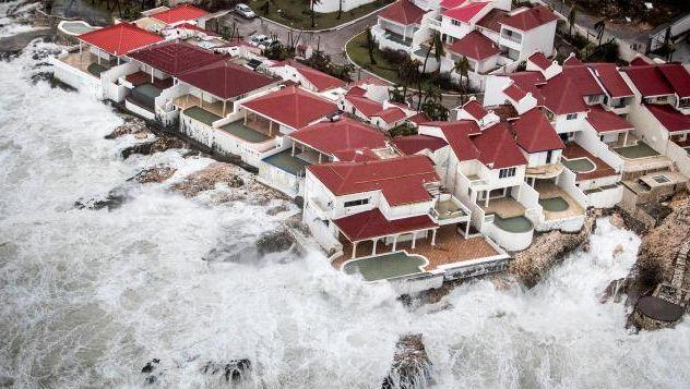 Gewaltige Natur: Auswikung des Sturms Irma auf der Karibikinsel Sint Maarten