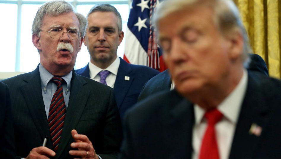 John Bolton: Der Ex-Sicherheitsberater des Präsidenten ist linker Umtriebe unverdächtig. Dennoch hält er Trump nicht für geeignet, das Land als Präsident zu führen