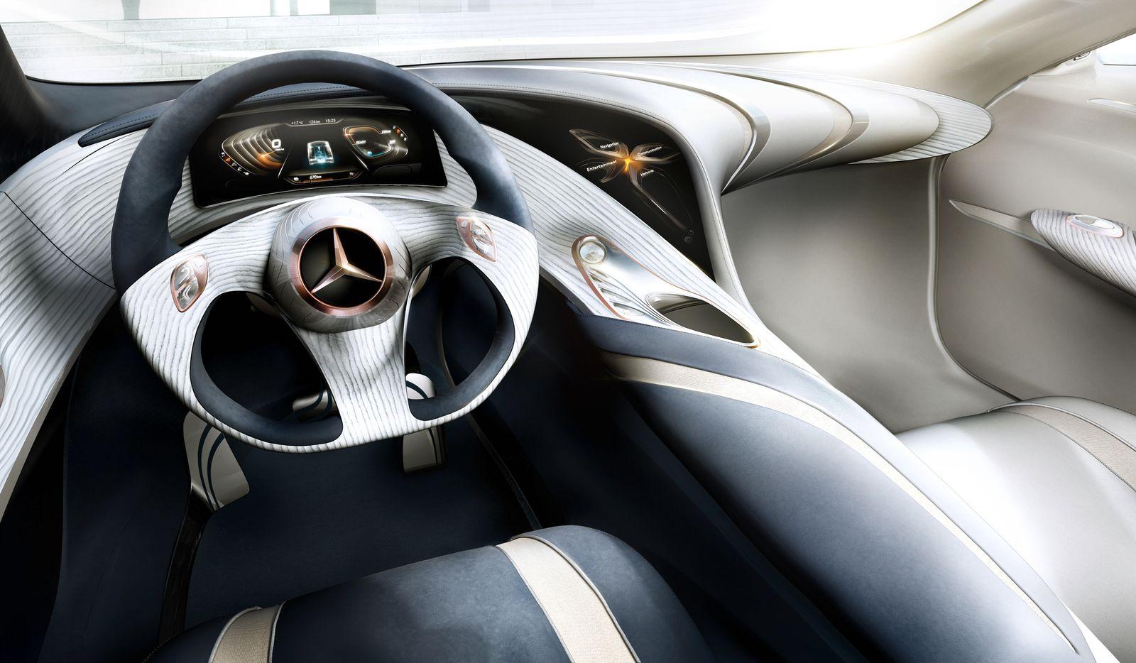 Mercedes F 125 / Design Innen
